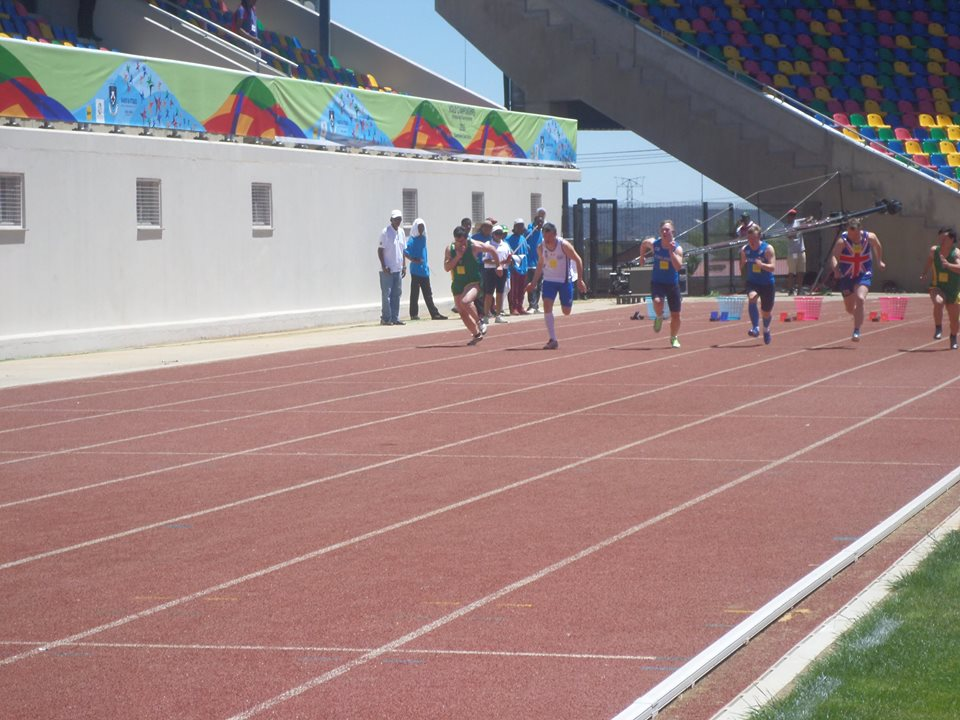 the 3rd IAADS (International Athletic Association for persons with Down Syndrome) World Athletics Championships .3