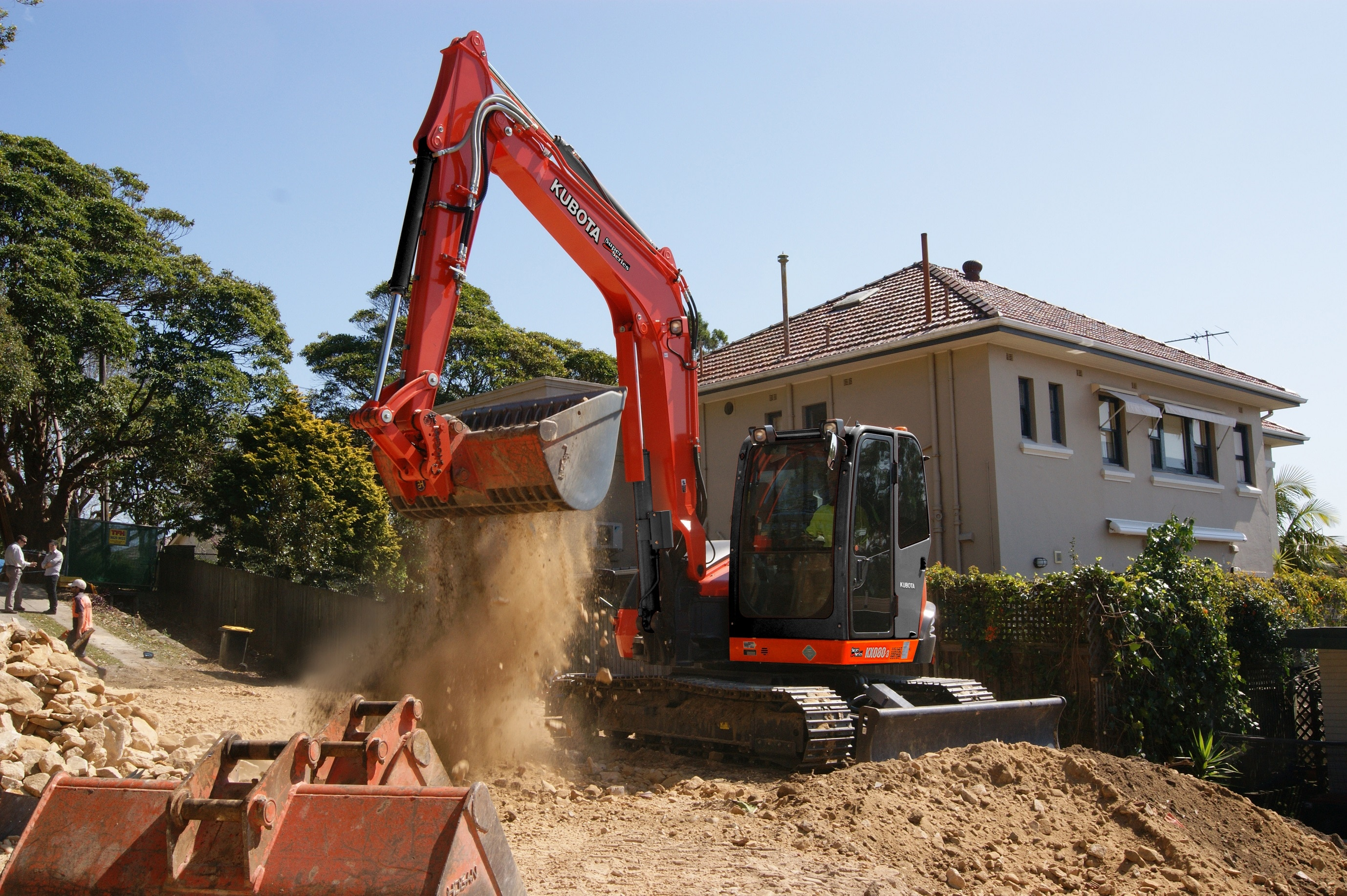 Kubota has been involved in the compact excavator industry for nearly four decades, leading the sector with its technological innovations.