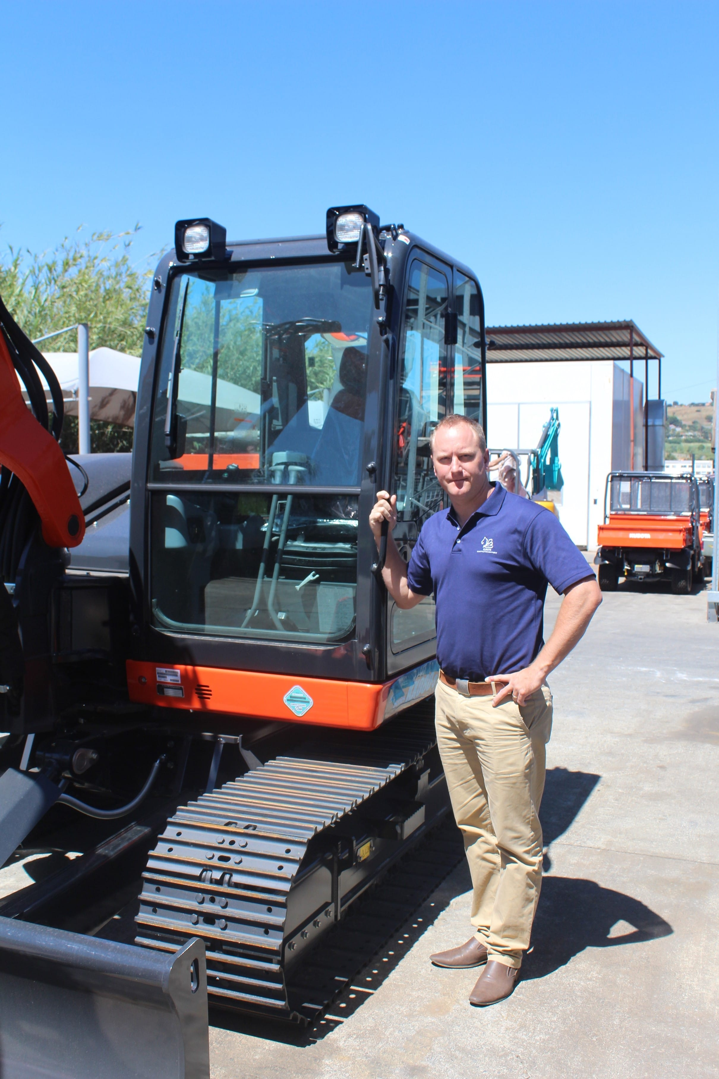 Tom Bloom, SPE General Manager,Construction Equipment.