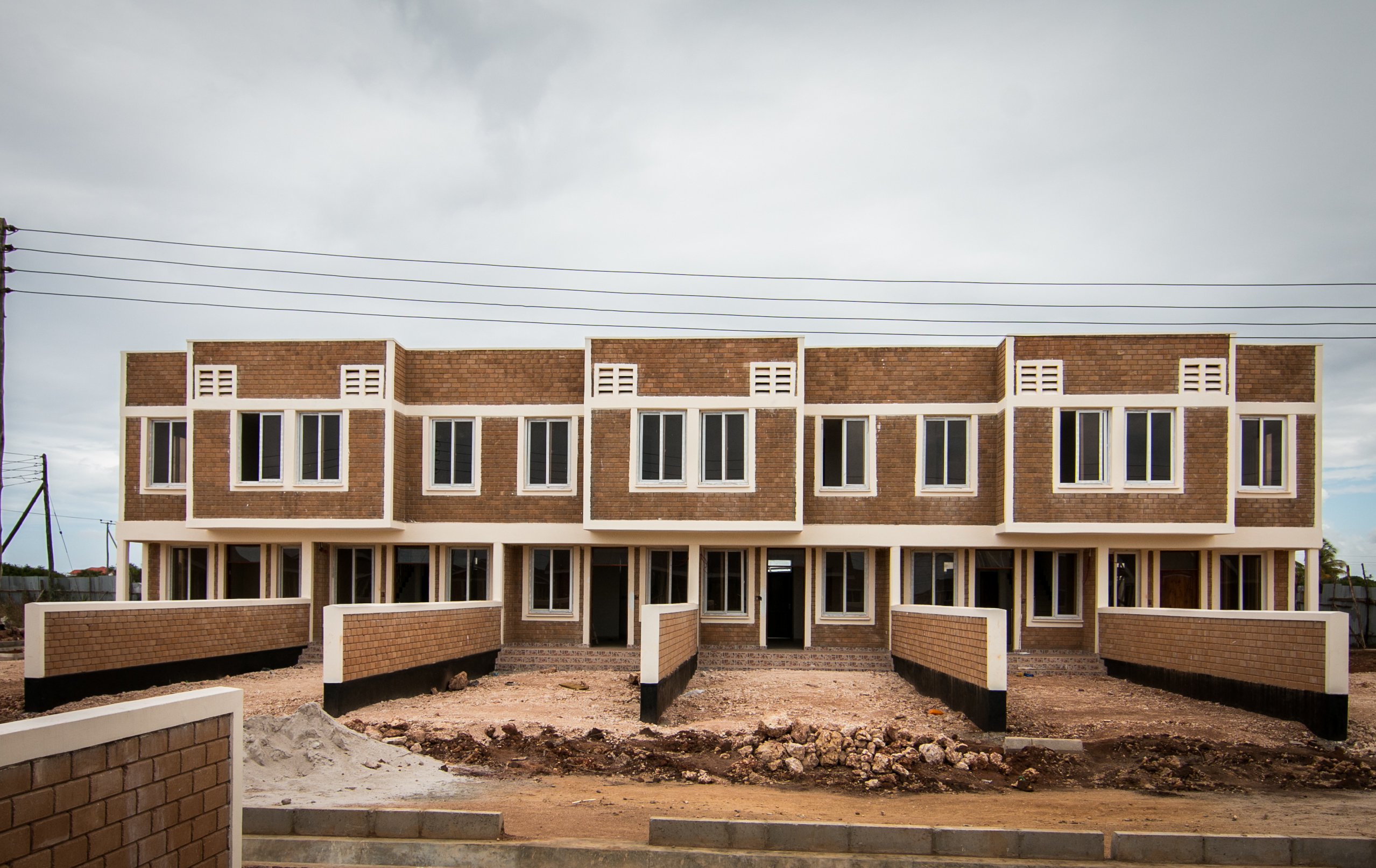 Hydraform blocks for million usd affordable housing